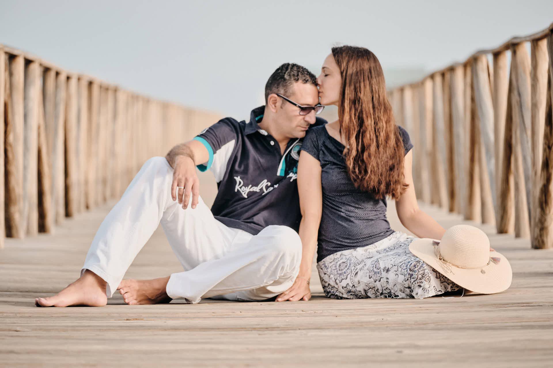 Paar Bilder fotografiert Fotograf Ela & Chris beim Fotoshooting auf Fuerteventura in Morro Jable an der Playa de Jandia