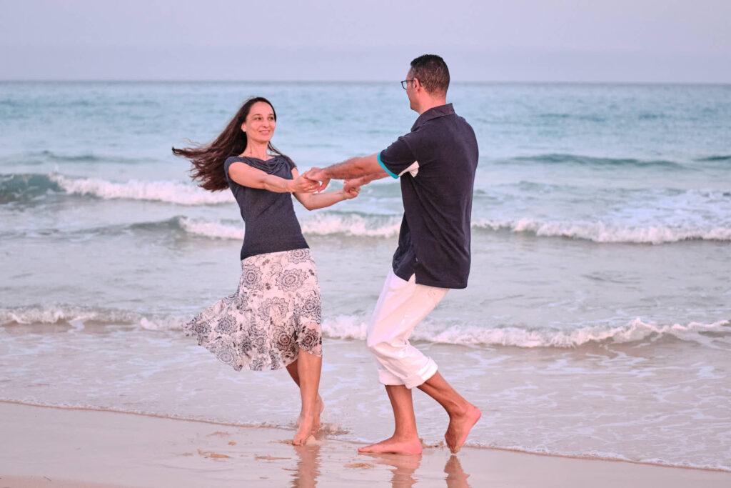 Bilder von einem Paar macht Deutscher Fotograf Ela & Chris beim Fotoshooting auf Fuerteventura in Morro Jable an der Playa de Jandia