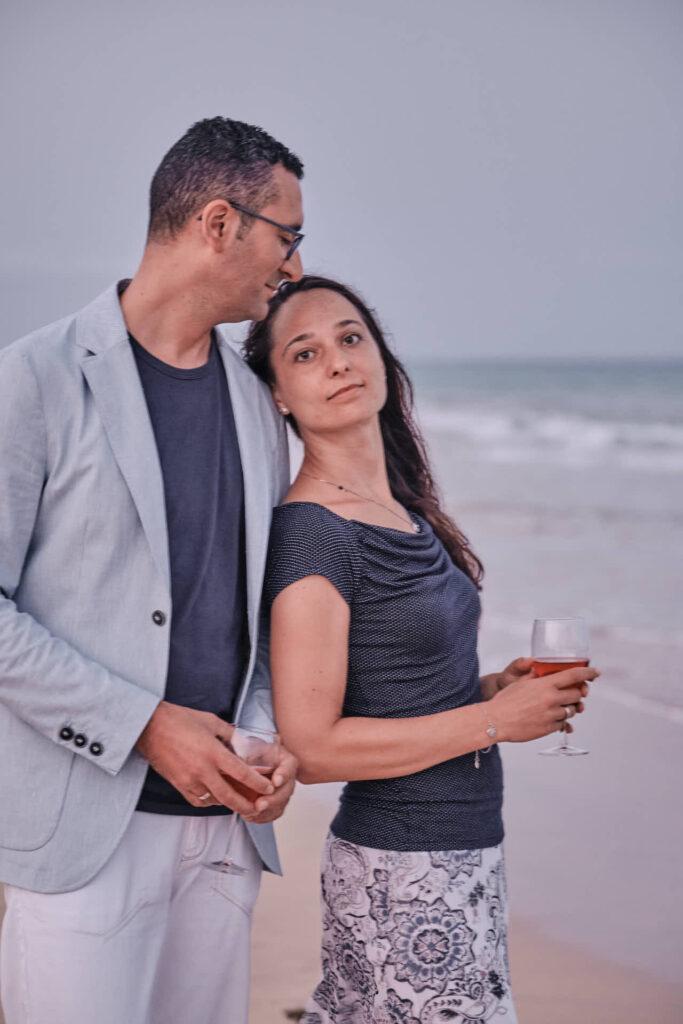 Deutscher Fotograf Ela & Chris fotografiert Bilder von einem Paar auf Fuerteventura in Morro Jable an der Playa de Jandia