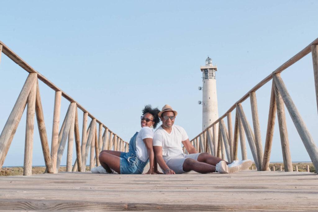 Fotograf Ela & Chris fotografiert Fotos von der Familie auf Fuerteventura in Morro Jable an der Playa de Jandia und Costa Calma