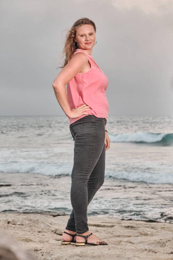 Beim Fotoshooting auf Fuerteventura fotografiert Deutscher Fotograf Chris Klein Freundinnen Fotos in Morro Jable an der Playa de Pared