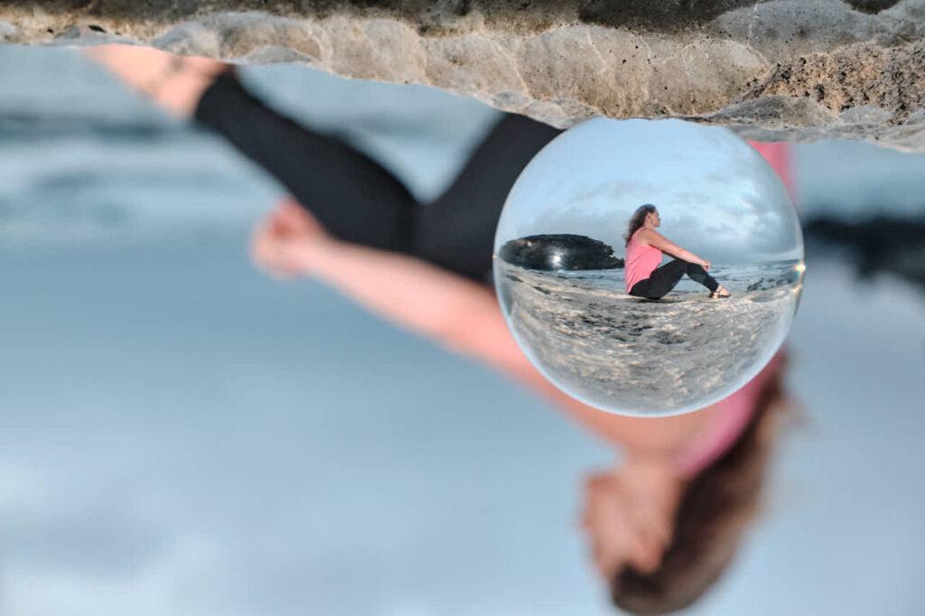 Deutscher Fotograf Chris Klein macht Freundinnen Fotos auf Fuerteventura in Morro Jable an der Playa de Pared