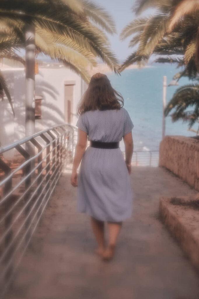 Bilder von Freundinnen fotografiert Deutscher Fotograf Chris Klein beim Fotoshooting auf Fuerteventura in Morro Jable an der Playa de Pared im David Hamilton Blur