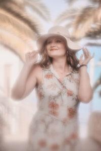 Deutscher Fotograf Chris Klein macht Freundinnen Bilder auf Fuerteventura in Morro Jable an der Playa de Pared im David Hamilton Blur